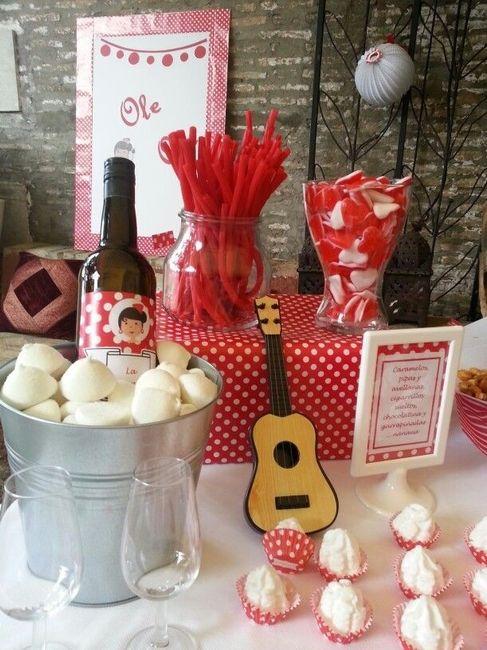 Boda flamenca fotos for Detalles decoracion boda