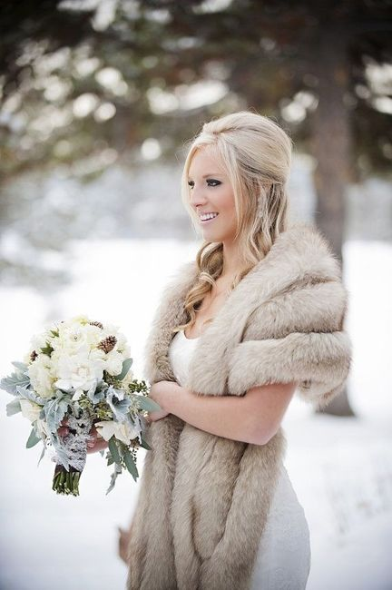 Abrigarse en la boda