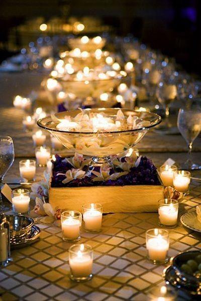 D coration avec des bougies d coration forum - Decoration avec des bougies ...