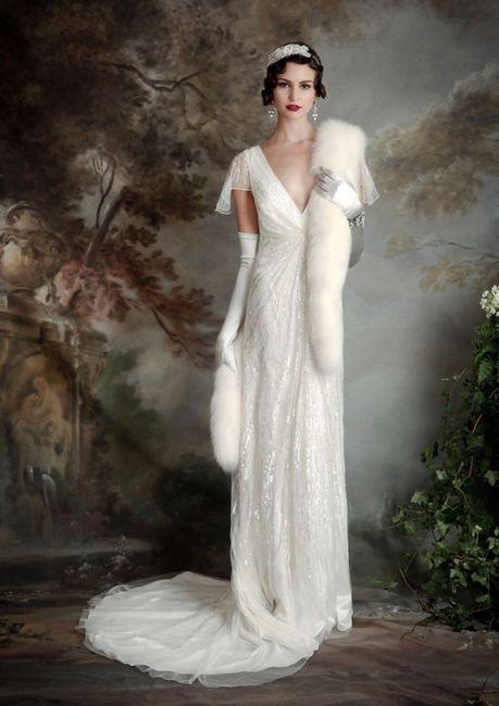 usarías un vestido de novia inspirado en los años 20?
