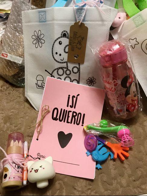 Detalles infantiles y damas de honor manualidades - Detalles para cumples infantiles ...