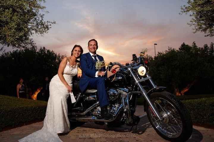 Moto de boda - 1