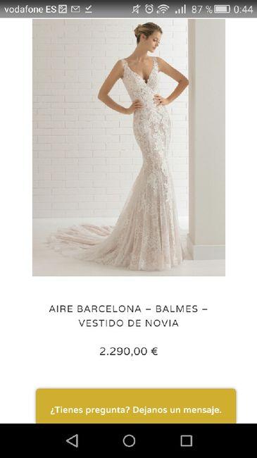 Vestido Aire Barcelona Balmes 2