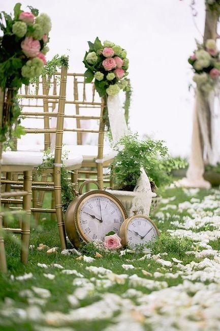 Reloj boda