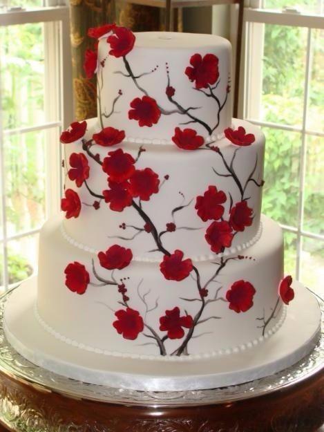 6 ideas para una boda en blanco y rojo organizar una - Decoracion blanco negro rojo ...