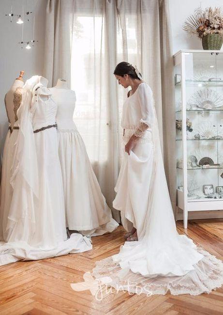 con cuánta antelación empezarás a mirar tu vestido de novia? - moda