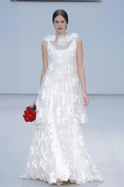 Los 10 vestidos de novia m s originales de 2017 moda for Novias originales 2017