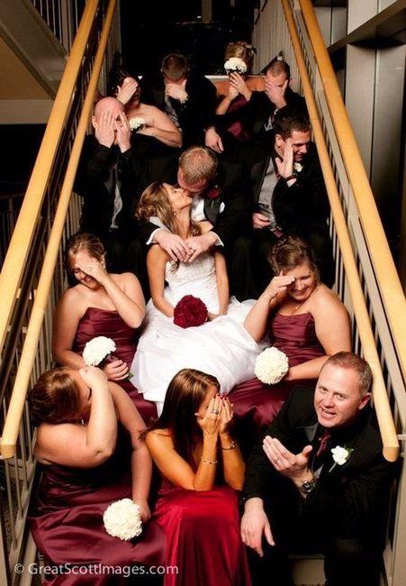 La plus belle photo avec les invités est... 1