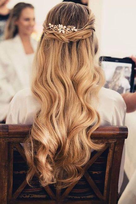 La coiffure selon votre date de mariage 2
