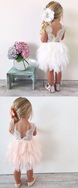 7892a6525 Falda de tul para niña: ¿rosita o blanca? - Moda nupcial - Foro ...
