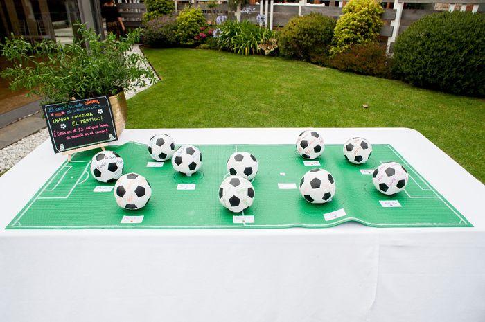 Seating plan futbolero