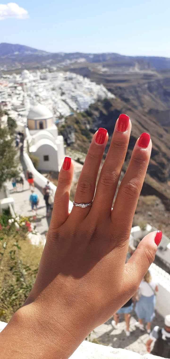 Pongamos foto de nuestros anillos de compromiso 3