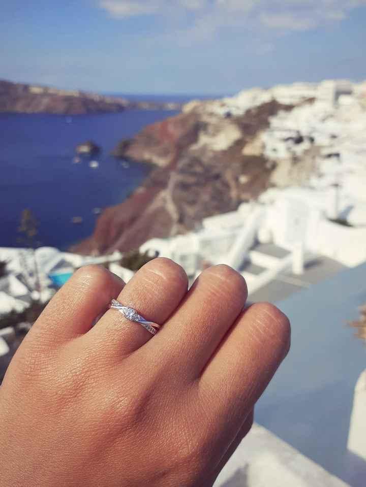 Pongamos todas nuestro anillo de compromiso 18
