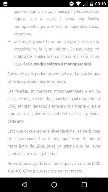 Nuevo! Futuras mamas Septiembre 2018 - 2