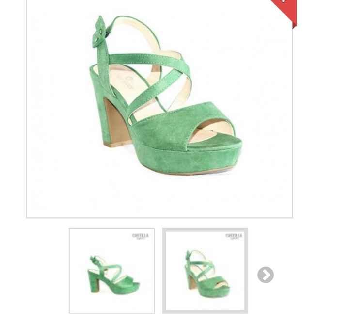Zapatos verdes o azules ?? - 1