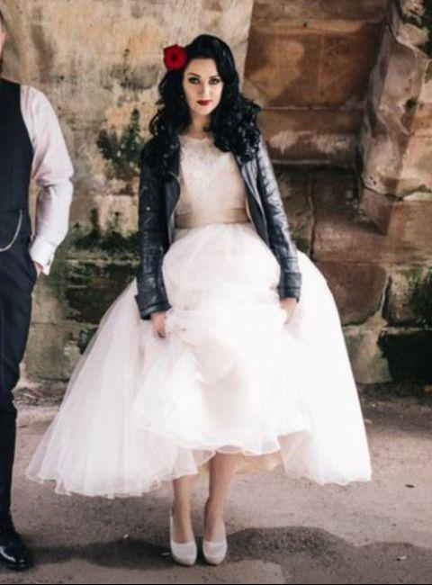 Vestido novia rockero (barcelona) 1