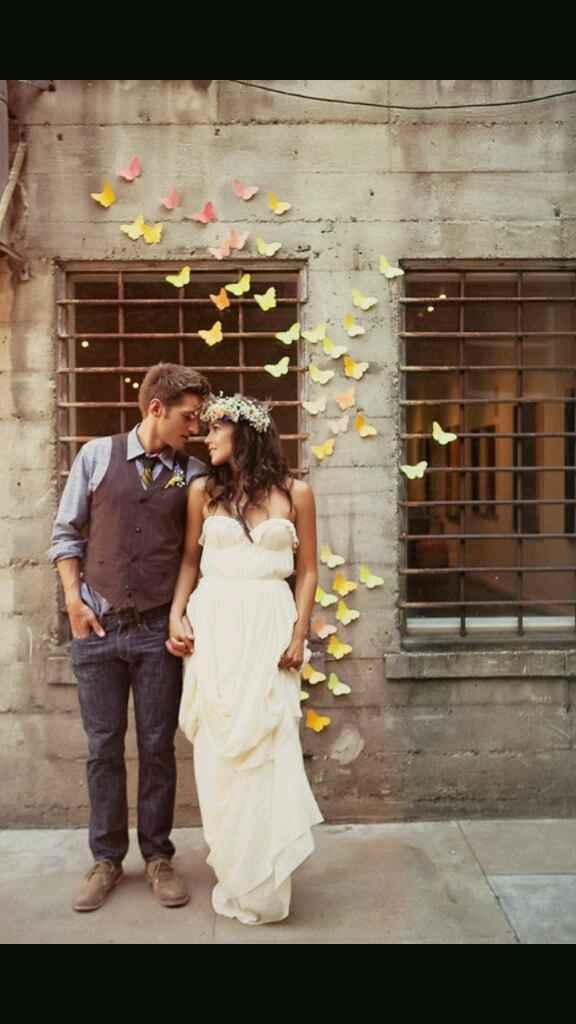 Boda inspiracion mariposas - 1