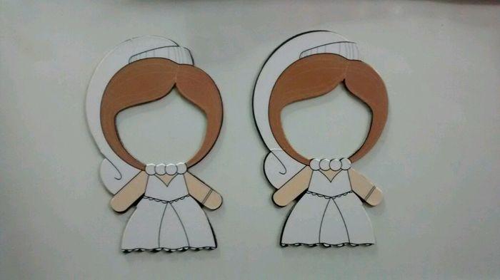 Detalle de boda iman nevera - 1