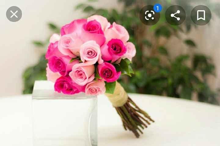 Ramos rosas - 1
