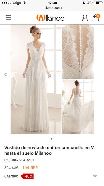vestido novia - antes de la boda - foro bodas