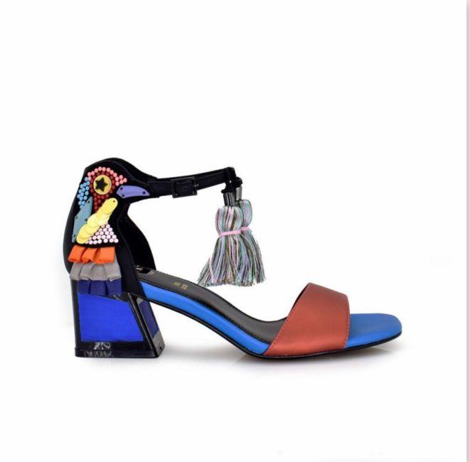 Zapato de novia 1