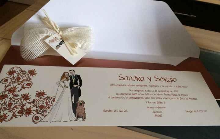 Ya han llegado mis invitaciones!!!! - 1