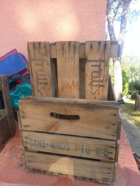 Busco cajas de fruta de madera - 2