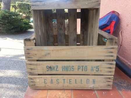 Busco cajas de fruta de madera - 1