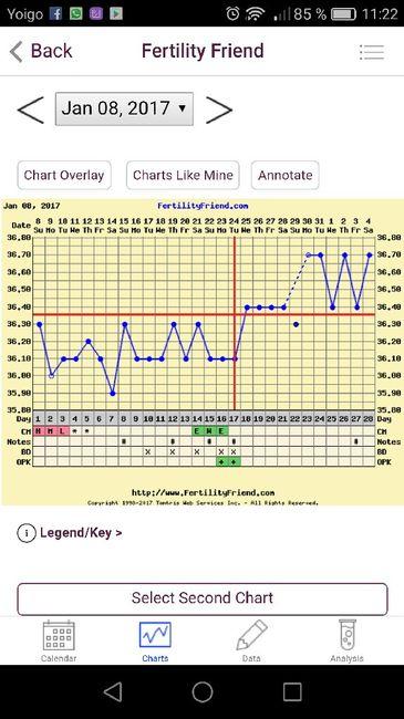 Gráficas de temperatura con positivo - 2