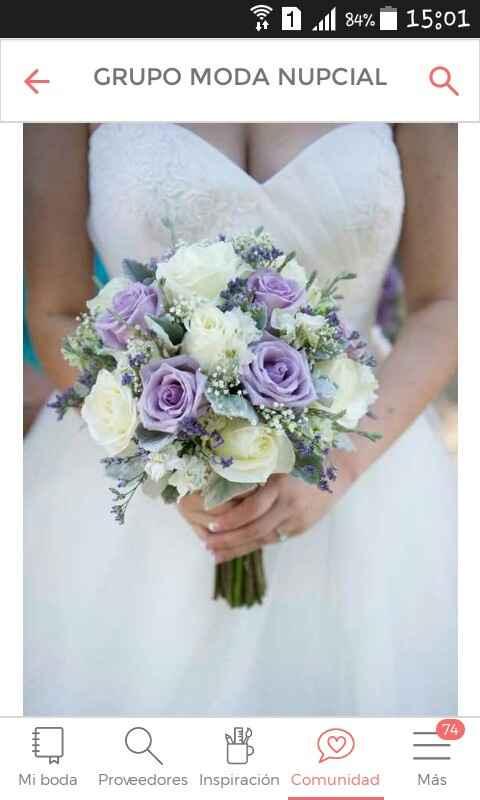 Ramos de novia lila y violeta - 1
