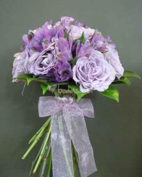 Ramos de novia lila y violeta - 2
