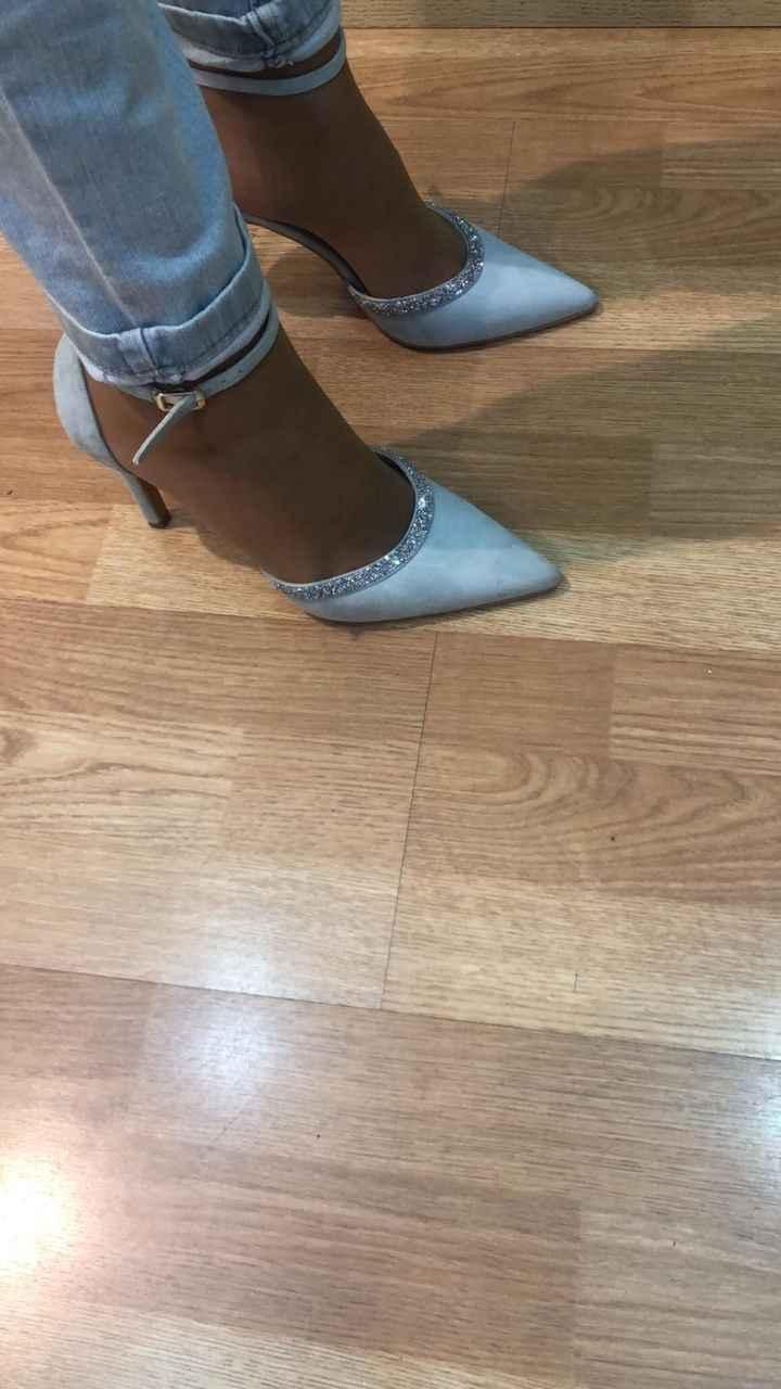 Zapatos azules donde - 1