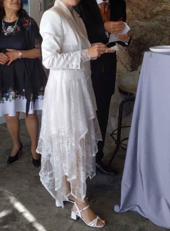 ¿Cual es el traje de novia más raro que hayas visto? - 1