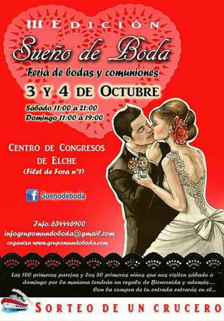Ferias de boda 2015 en murcia - 1