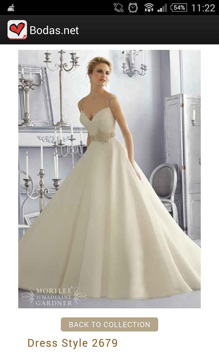Vestido novia mori lee - 1