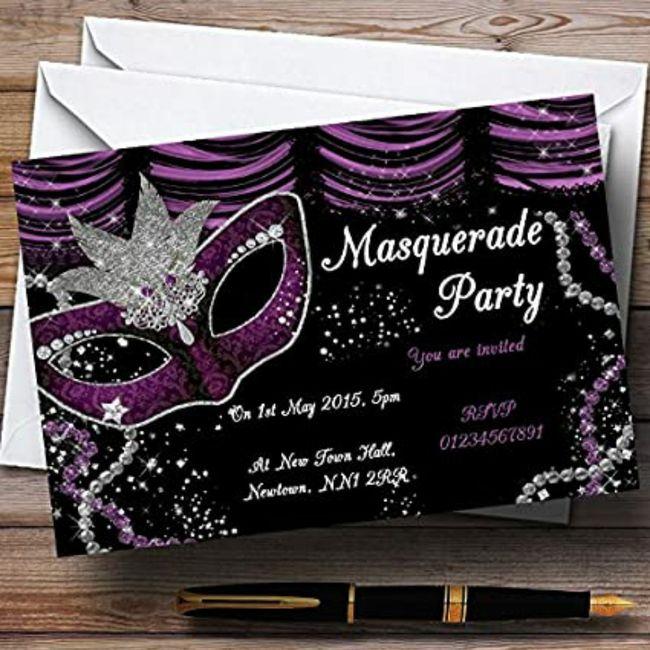 Invitaciones carnaval 3