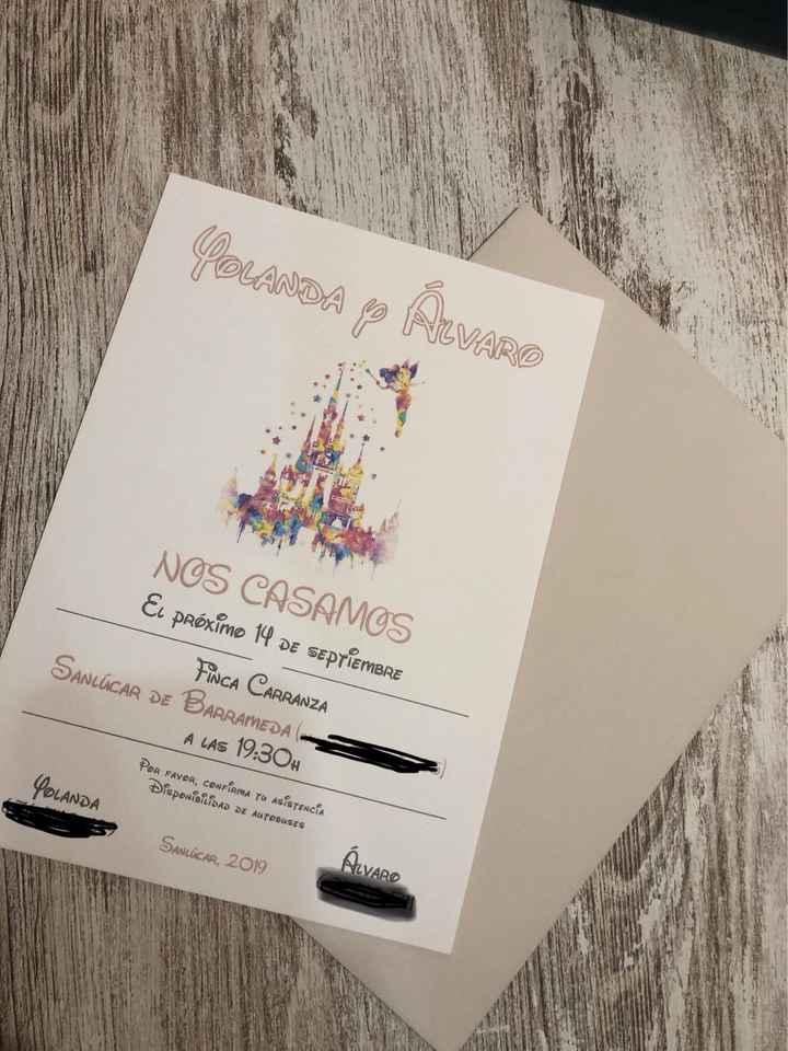 Invitaciones Disney - 1