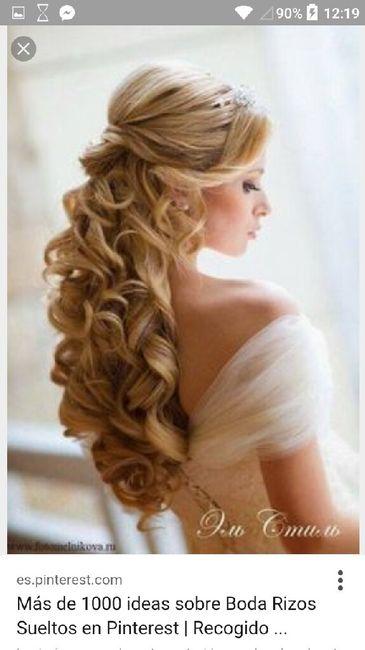 Peinado De Novia En Pelo Rizado Belleza Foro Bodas Net