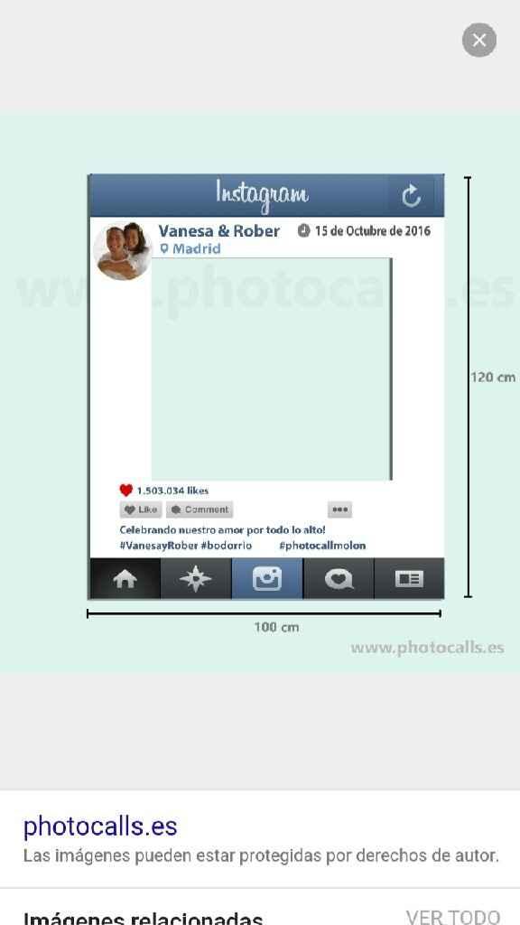 """Cartel para photocall """"instagram"""" - 2"""