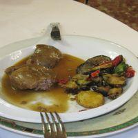 Prueba menú Salón Viher - Carrillada Ibérica