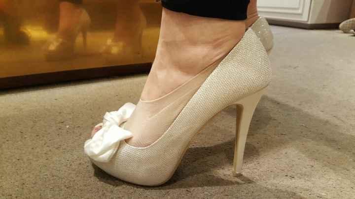 Mis zapatos de novias - 1