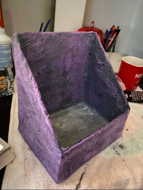 Caja decorada. 4