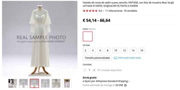 Vestido Aliexpress - 1