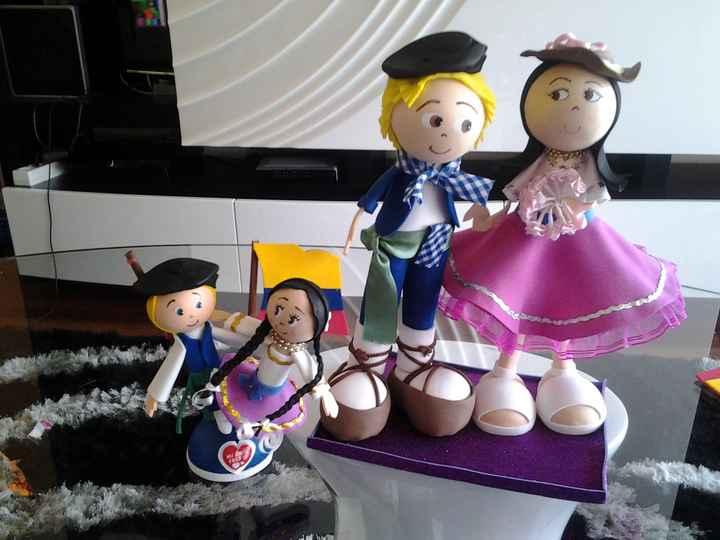 muñekos personalizados....