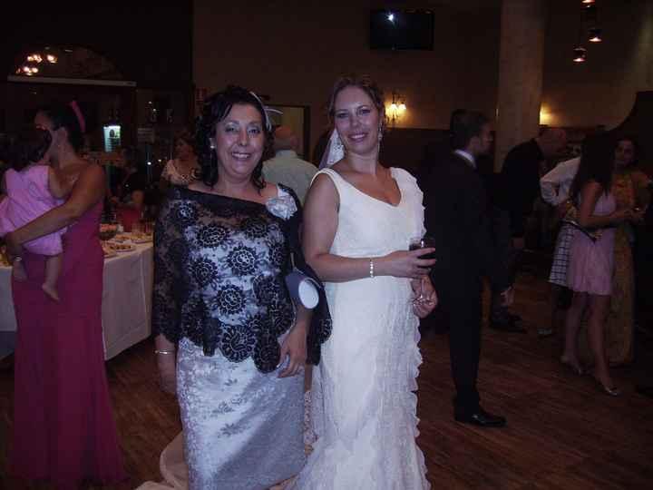 con mi madre