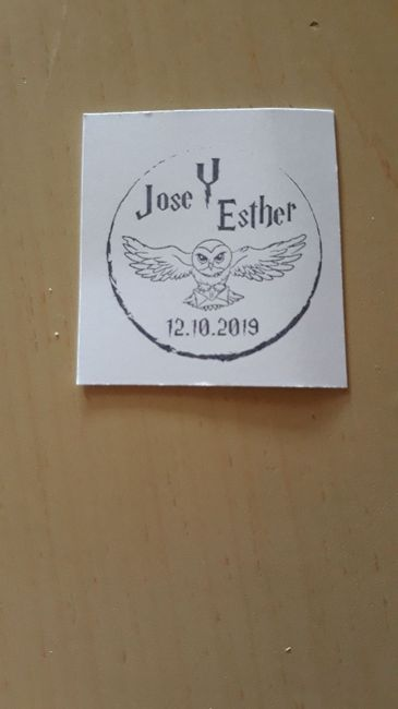 Mi sello para las etiquetas - 1