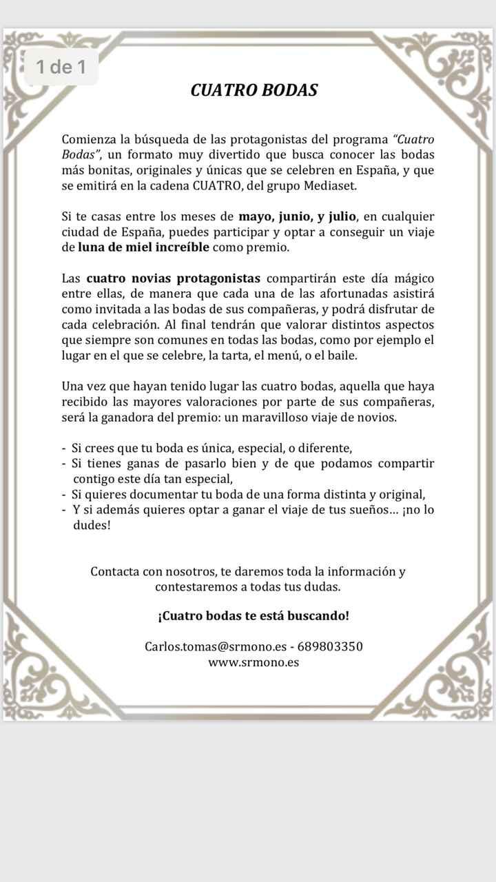 4 bodas Mediaset - 1