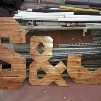 Letras de madera - 1