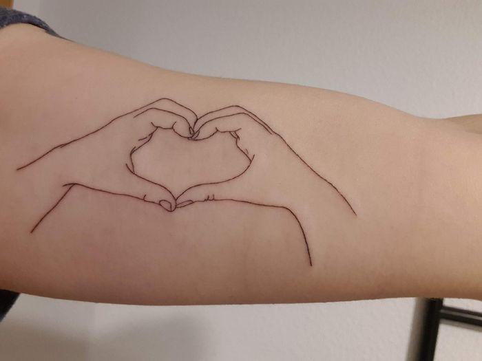 ¿Llevas algún tattoo romántico vinculado con tu pareja? 7