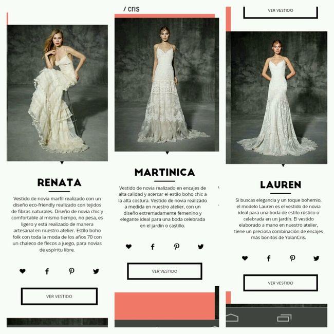 9d58cf3e5 Vestidos yolancris - Moda nupcial - Foro Bodas.net